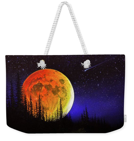 Hunter's Harvest Moon Weekender Tote Bag