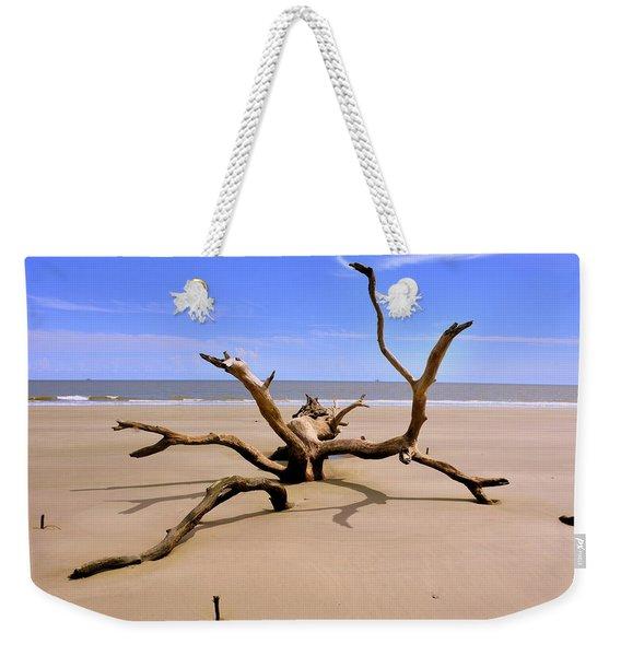 Hunting Island Beach Beaufort Sc Weekender Tote Bag