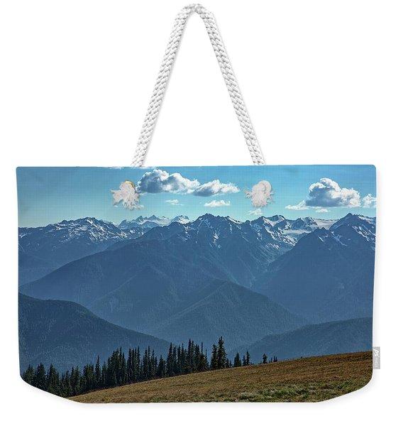 Hurricane Ridge Weekender Tote Bag