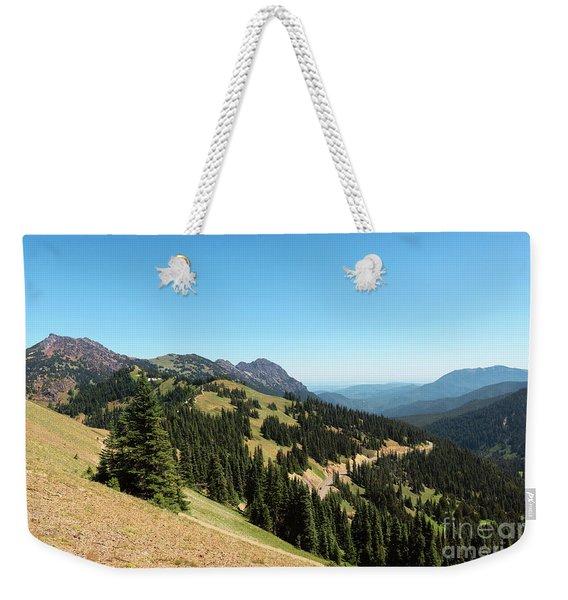 Hurricane Ridge View II Weekender Tote Bag