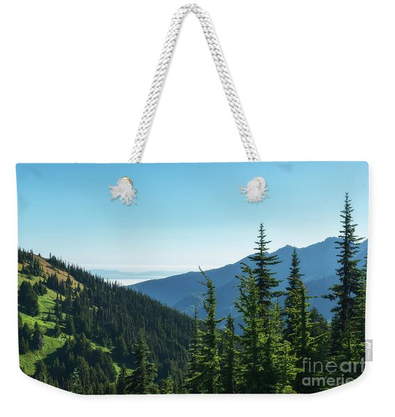 Hurricane Ridge View Weekender Tote Bag