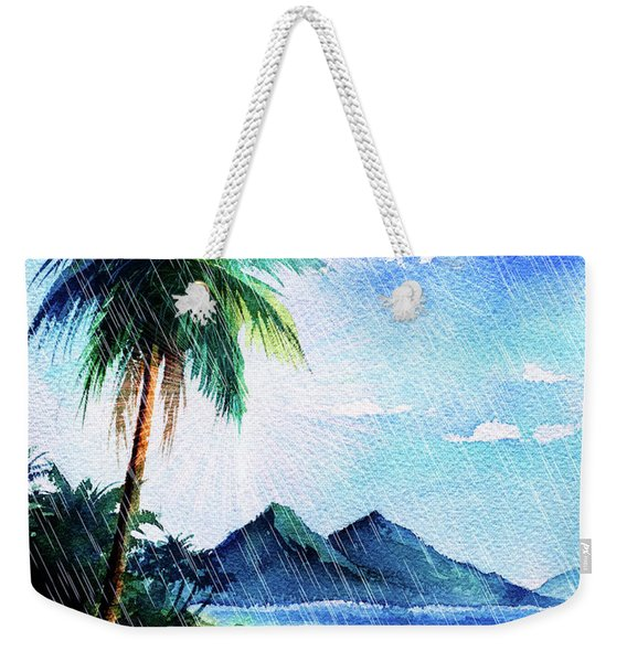 Hurricane Season Weekender Tote Bag