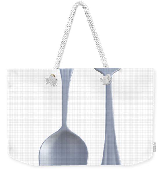 Husband And Wife Team Weekender Tote Bag