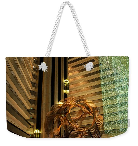 Hyatt Regency Sf Atrium Weekender Tote Bag