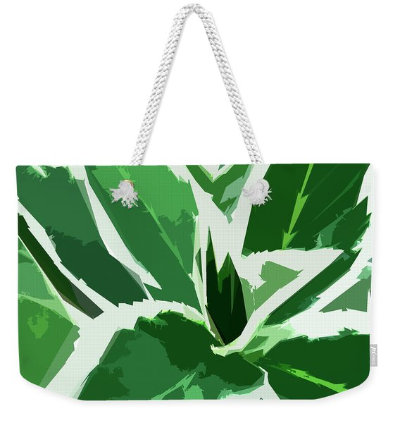 Weekender Tote Bag featuring the digital art Hydrangea by Gina Harrison