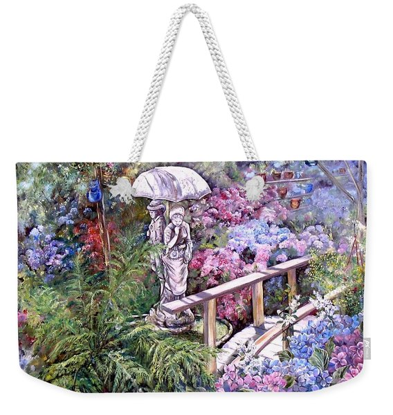 Hydrangea In The Formosa Gardens Weekender Tote Bag