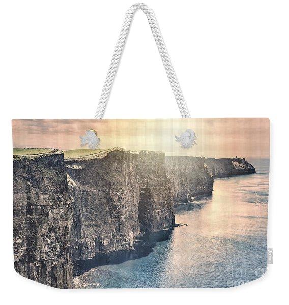 Hymn Of The Cliffs Weekender Tote Bag