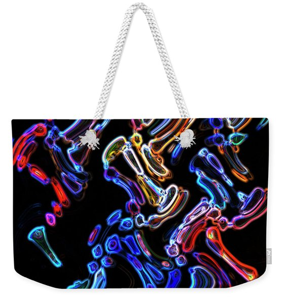 Hyper Oil Paint Weekender Tote Bag