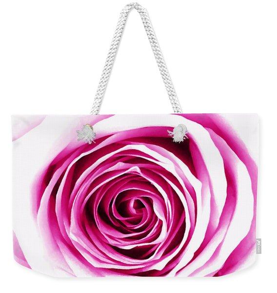 Hypnotic Pink Weekender Tote Bag