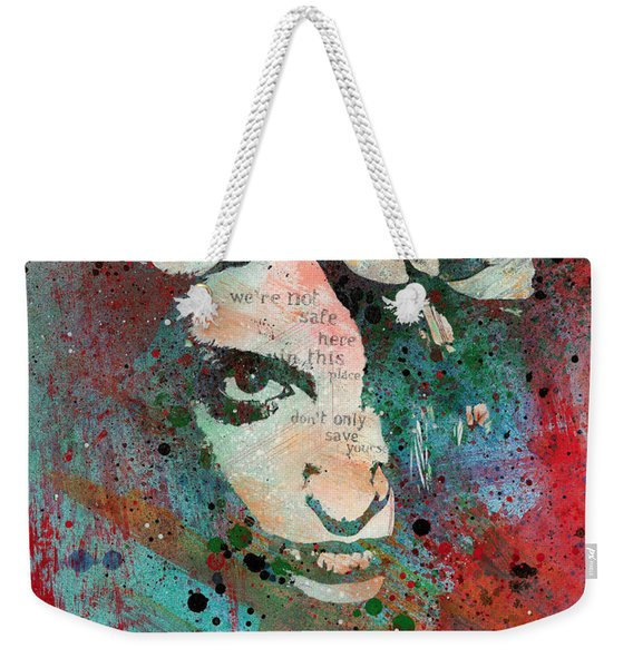 Hypothermia In A Halo Weekender Tote Bag