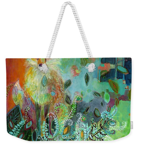 I Am The Forest Path Weekender Tote Bag
