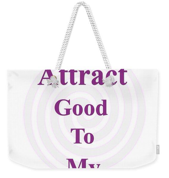 I Attract Weekender Tote Bag