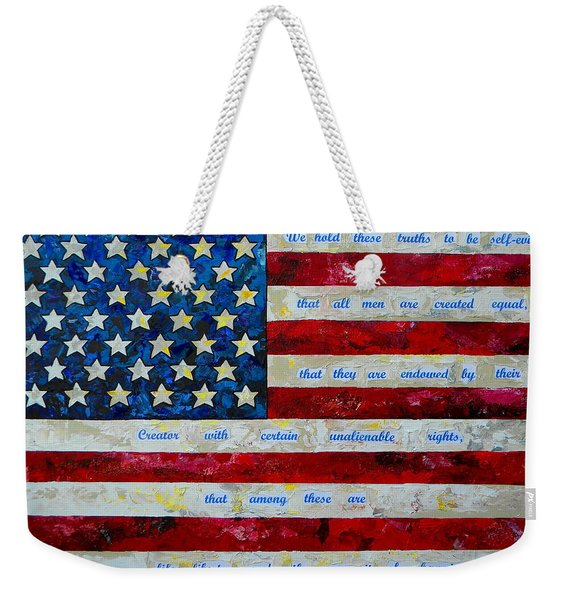 I Believe Weekender Tote Bag