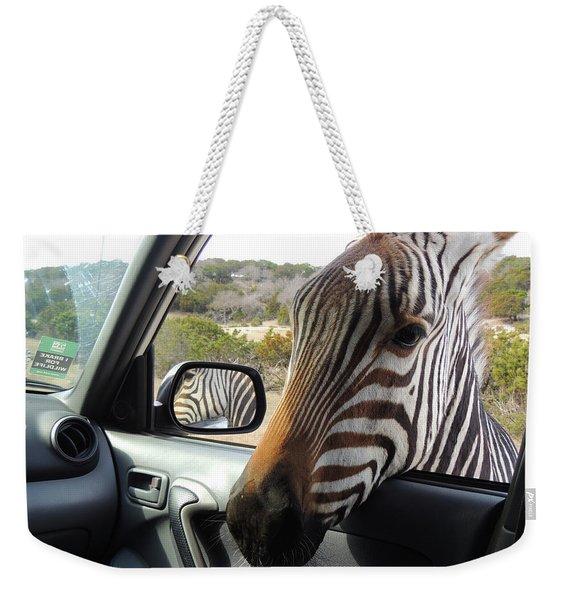 I Brake For Wildlife Weekender Tote Bag