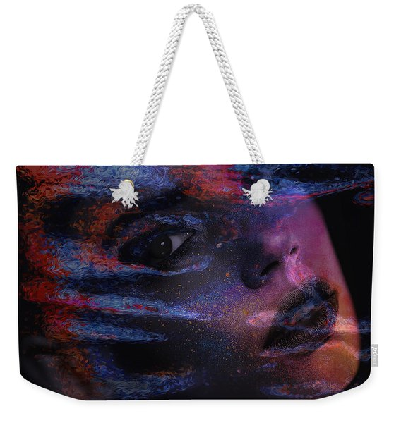 I Breathe Art Therefore I Am Art Weekender Tote Bag