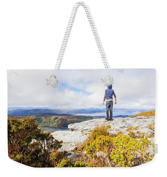 I Can Climb Mountains Weekender Tote Bag
