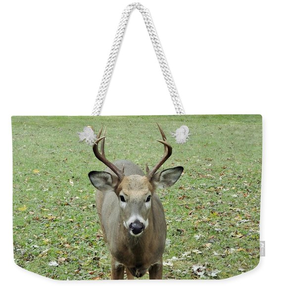 I Dare You To Pass The Buck Weekender Tote Bag
