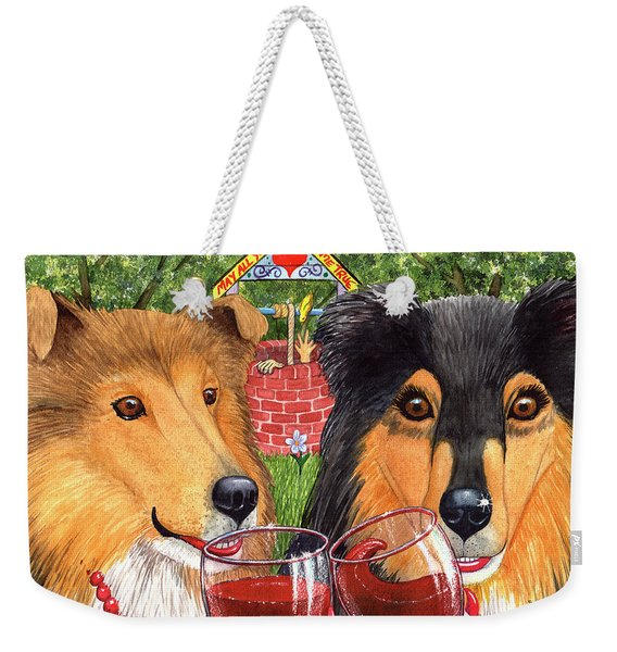 I Didn't Hear Anything, Did You? Weekender Tote Bag