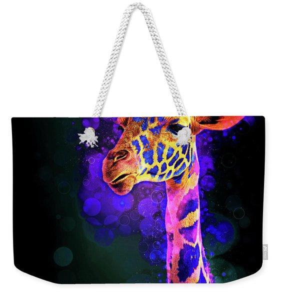 I Dreamt A Giraffe Weekender Tote Bag