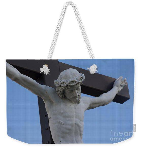 I Found Jesus Weekender Tote Bag