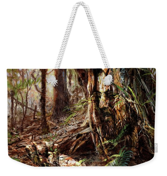 I Invented Recycling Weekender Tote Bag