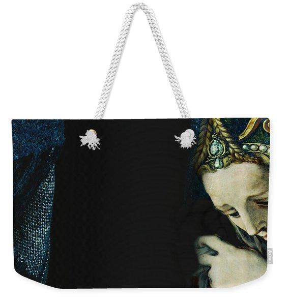 I Kissed A Girl  Weekender Tote Bag