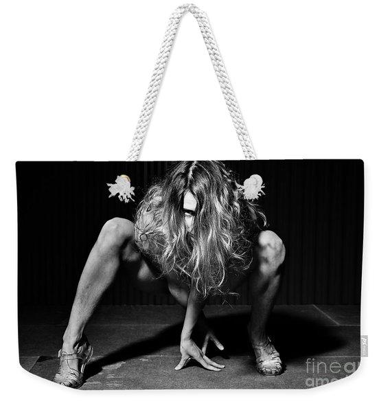 I Look At You Weekender Tote Bag