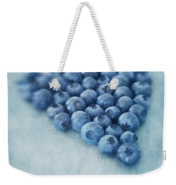 I Love Blueberries Weekender Tote Bag