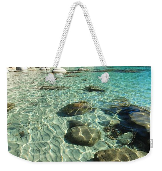 I Love Her Sandy Bottom Weekender Tote Bag