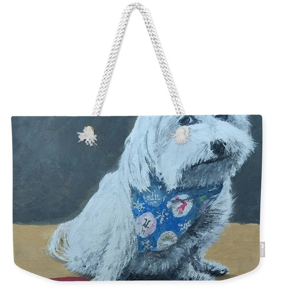 Weekender Tote Bag featuring the painting No Bowls by Kevin Daly