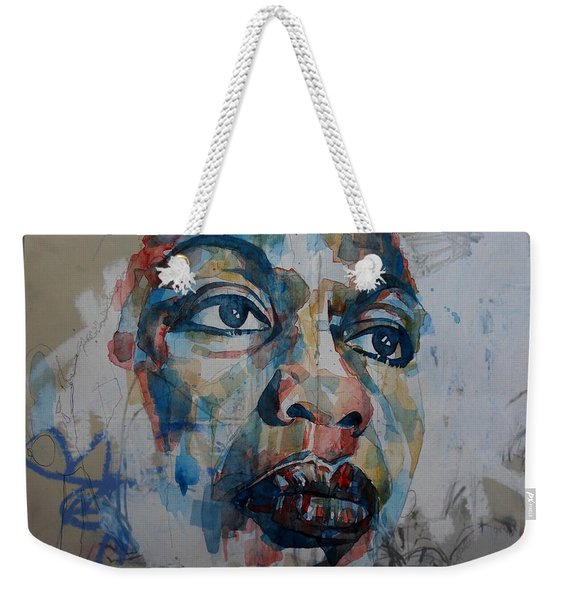 I Put A Spell On You - Nina Simone  Weekender Tote Bag
