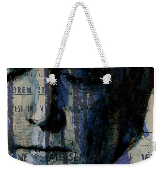 I Read The News Today Oh Boy  Weekender Tote Bag