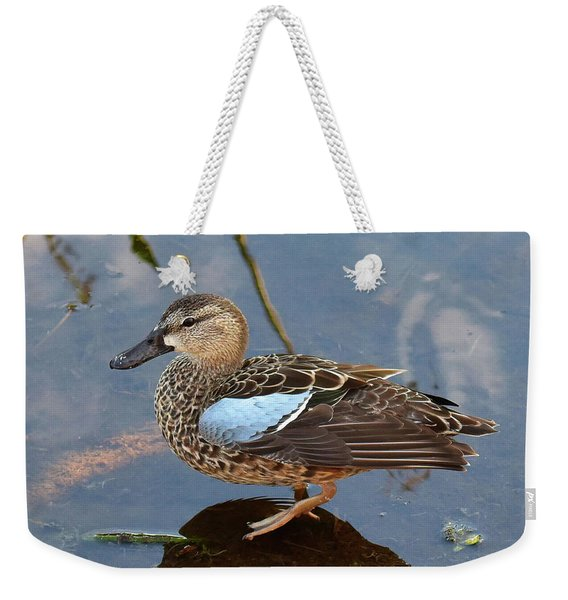 I Really Am A Green Winged Teal Weekender Tote Bag