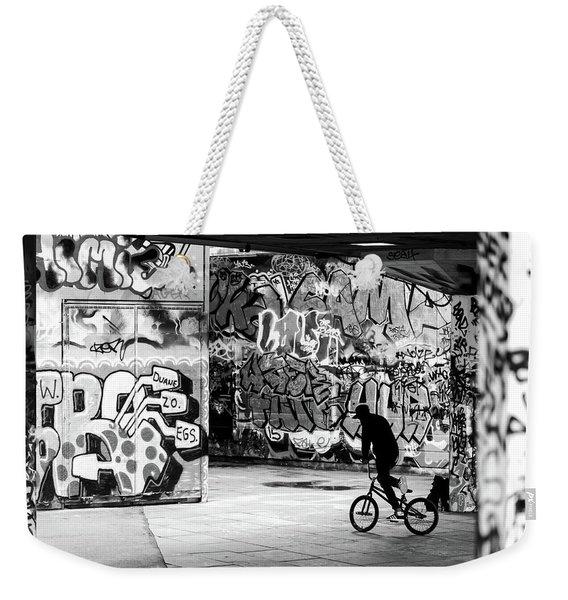 I Ride Alone Weekender Tote Bag