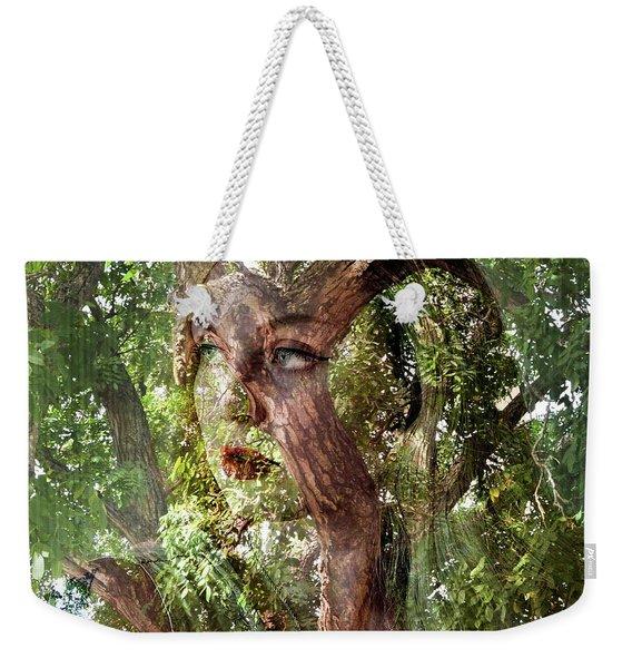 I See Myself In Nature Weekender Tote Bag