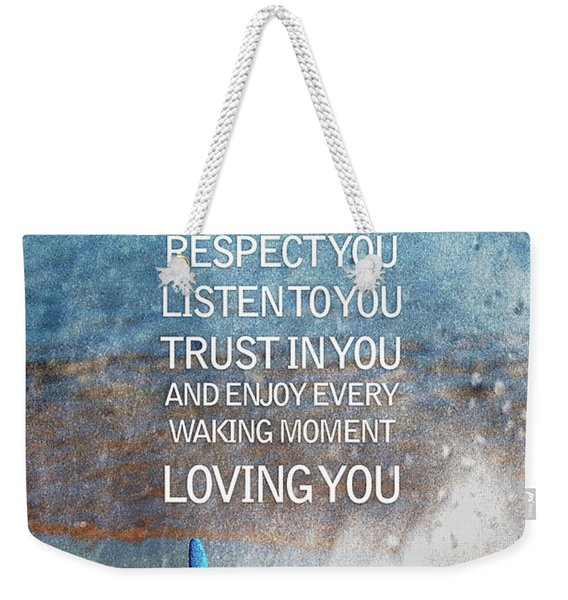 I Vow To... Weekender Tote Bag