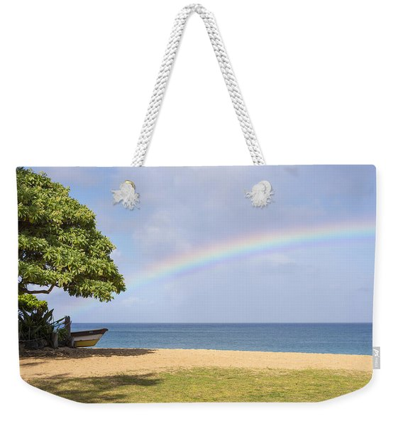 I Want To Be There Too - North Shore Oahu Hawaii Weekender Tote Bag