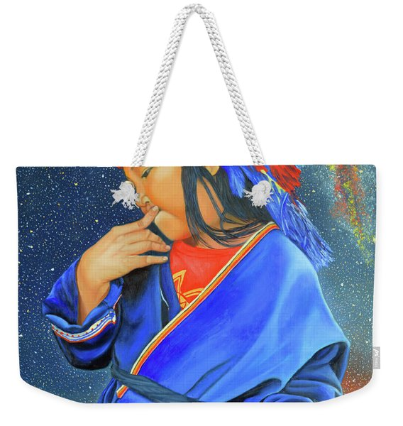 I Want To Put A Ding In The Universe Weekender Tote Bag