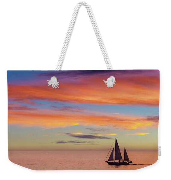 I Will Sail Away, And Take Your Heart With Me Weekender Tote Bag