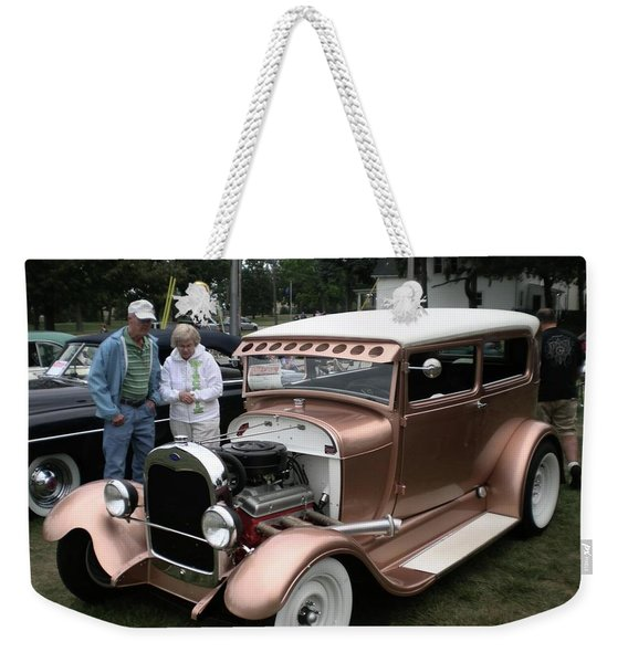 I Wish Your Engine Ran As Good As His Weekender Tote Bag