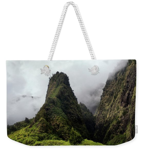 Iao Needle Weekender Tote Bag