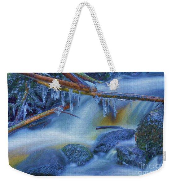 Ice And Water 2 Weekender Tote Bag