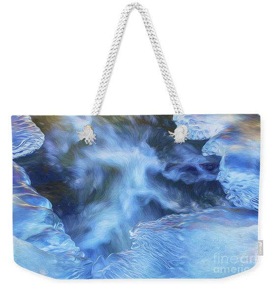 Ice And Water Weekender Tote Bag