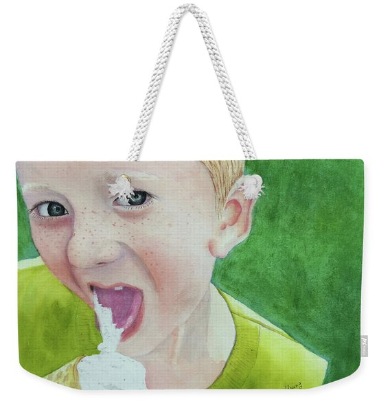 Ice Cream Weekender Tote Bag