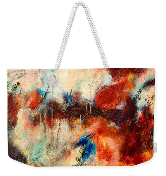 Ice Cream From Ear To Ear Weekender Tote Bag