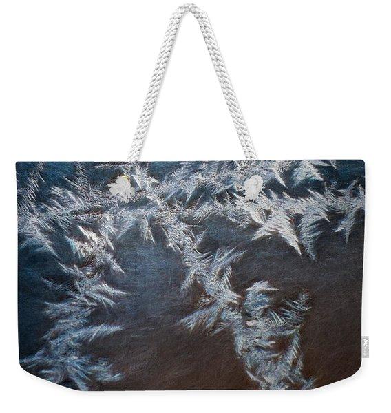 Ice Crossing Weekender Tote Bag