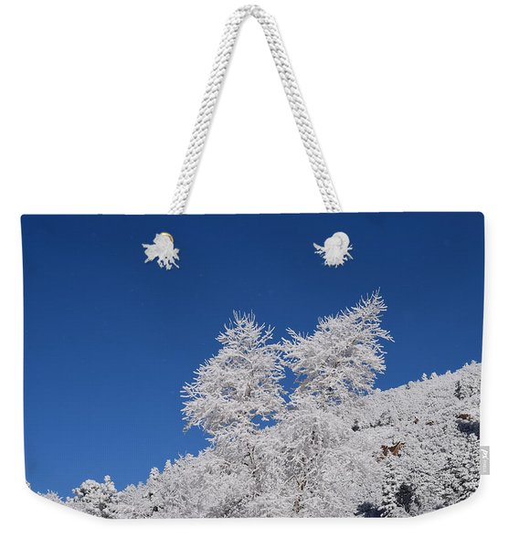 Ice Crystals Ute Pass Cos Co Weekender Tote Bag