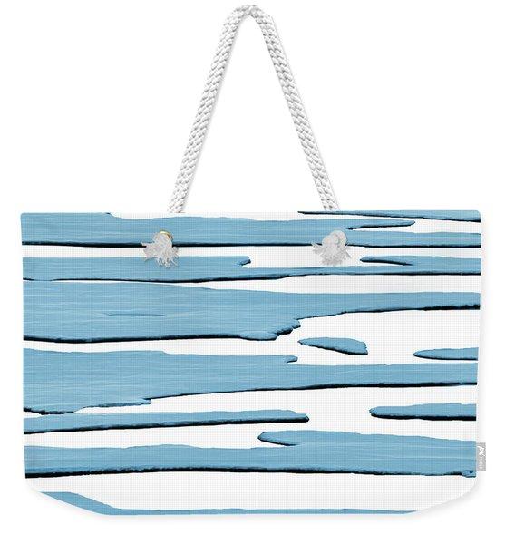 Ice Flow Weekender Tote Bag