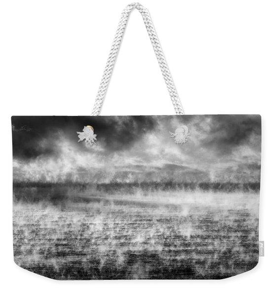 Ice Fog  Weekender Tote Bag