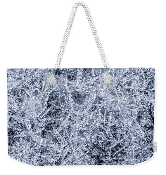 Ice On Minnehaha Creek 3 Weekender Tote Bag